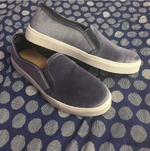 LOFT velvet shoes
